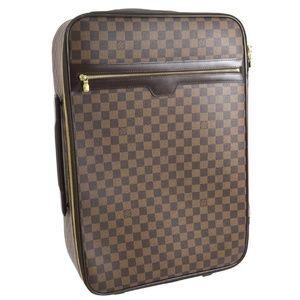 Auth Louis Vuitton Pegase 55 Damier #1118L78